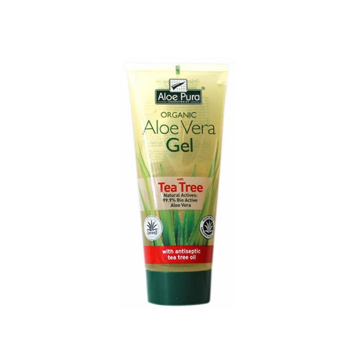 Optima ALOE VERA GEL 99.9% with TEA TREE, 200ml