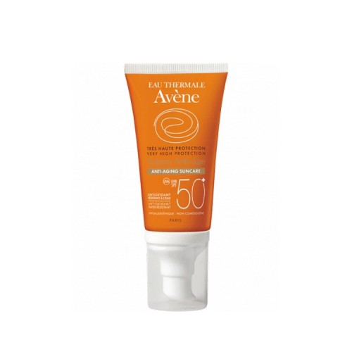 Avene Solaire Anti-Age - Very High Anti-aging Protection for Face SPF 50, 50ml