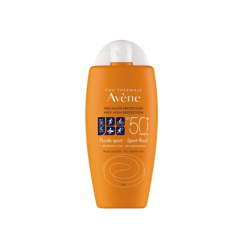 Avene Fluide sport SPF 50 - Very High Sun Protection for Athletes, 100ml